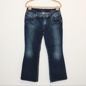 Silver Suki Bootcut Jeans 33 x 30
